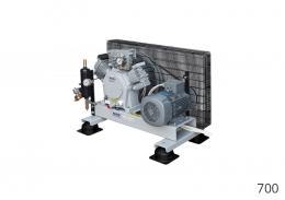 COMPRESSORE MEDIA PRESSIONE SERIE 700 CHASSIS - Alkin Compressors Italia