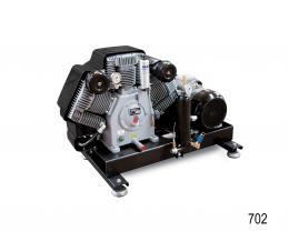 COMPRESSORE MEDIA PRESSIONE SERIE 702 CHASSIS - Alkin Compressors Italia