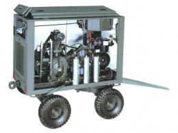 Compressore rimorchiabile su carrello - Alta, media e bassa Pressione - Alkin Compressors Italia