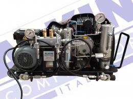 Compressore Sub Portatile - W31 Mariner Doppia Pressione 225/310 Bar - Alkin Compressors Italia